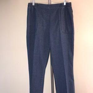 ALIA Jeans Elastic Waistband SIZE 12S